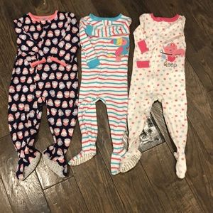 3 - 18 month lightweight sleepers